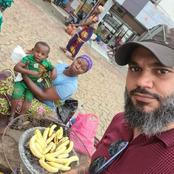 La vendeuse de banane braisé retrouvée par Hassan Ayek