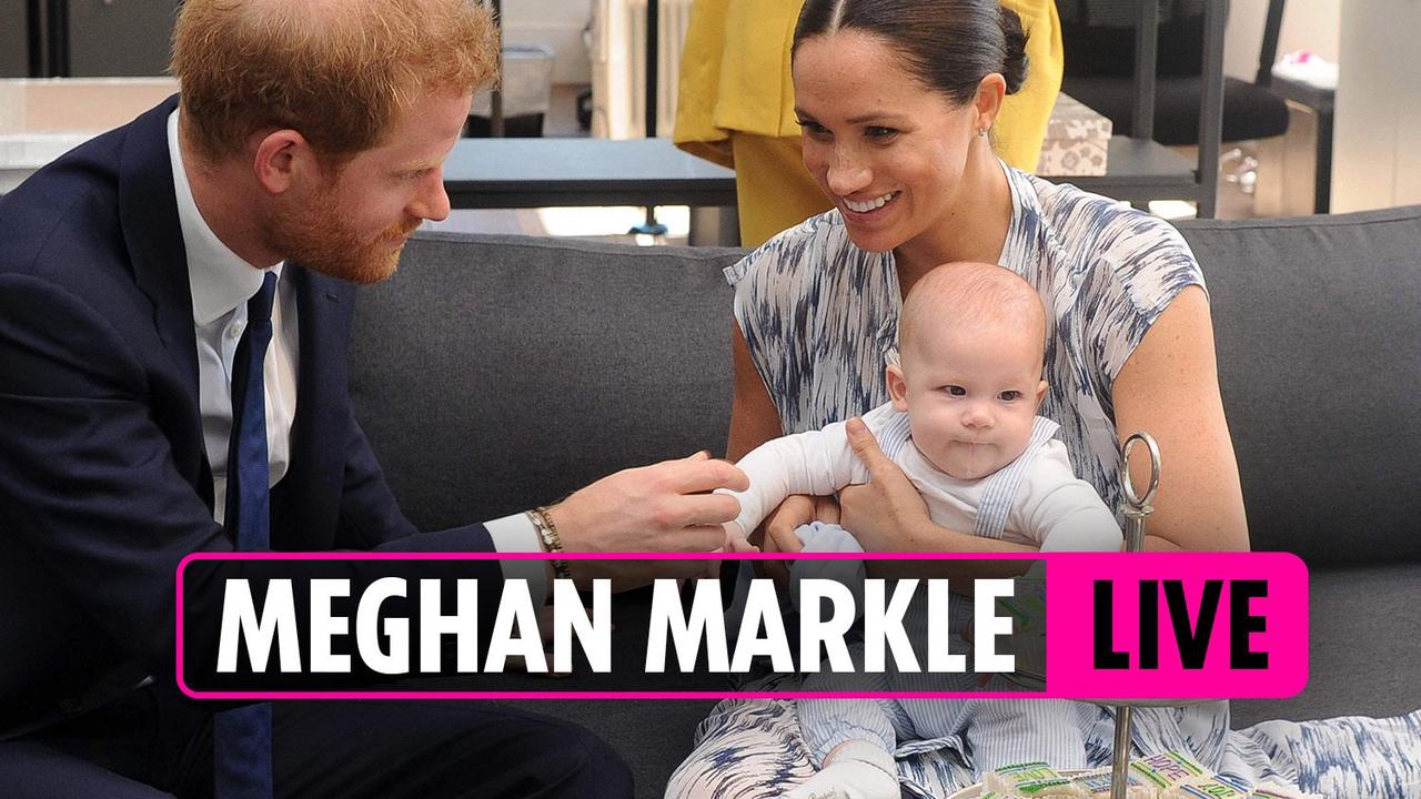 Harry & Meghan's son Archie is already learning to count and 'keeps saying two'