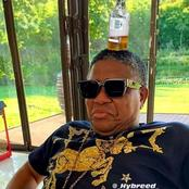 Mbalula's latest twitter picture causes a frenzy, see what he has on his head