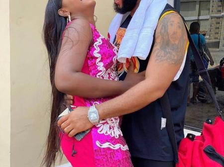 Photos Of Stephen Odimgbe With Regina Daniels, Luchy Donalds, Destiny And Other Actresses On Set