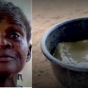 'We have been drinking this kind of water for years'- Woman Reveals