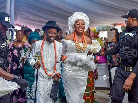 Erigga Finally Gets Married, Check Out His Wedding Photos