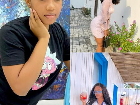 Check Out These Beautiful And Adorable Pictures Of Diana Eneje, Priscilia Ojo And Maliya Michael