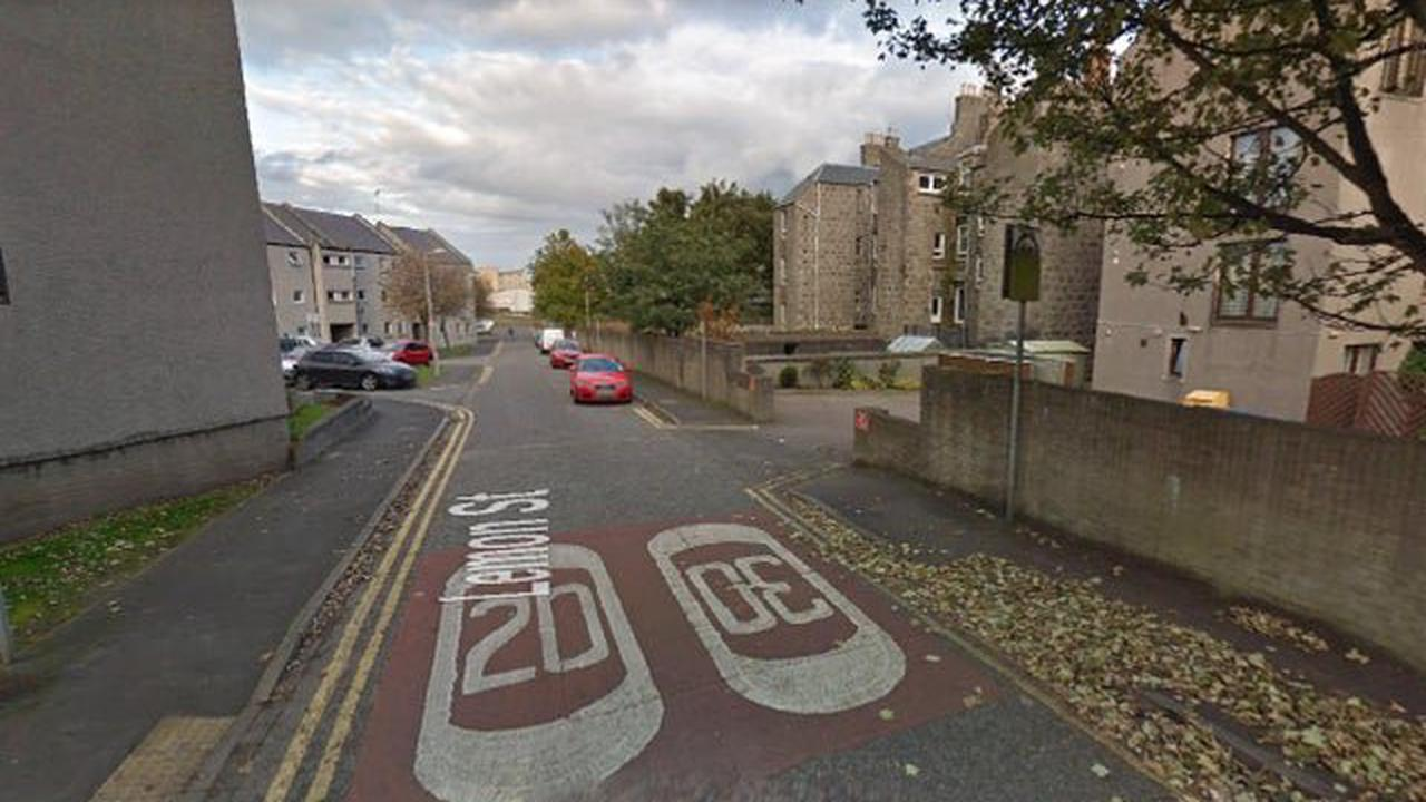 Armed police have been sent to deal with an ongoing 'disturbance' in Aberdeen as roads in the area are closed off
