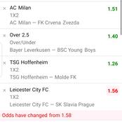 Today's Game Predictions with 40 Odds