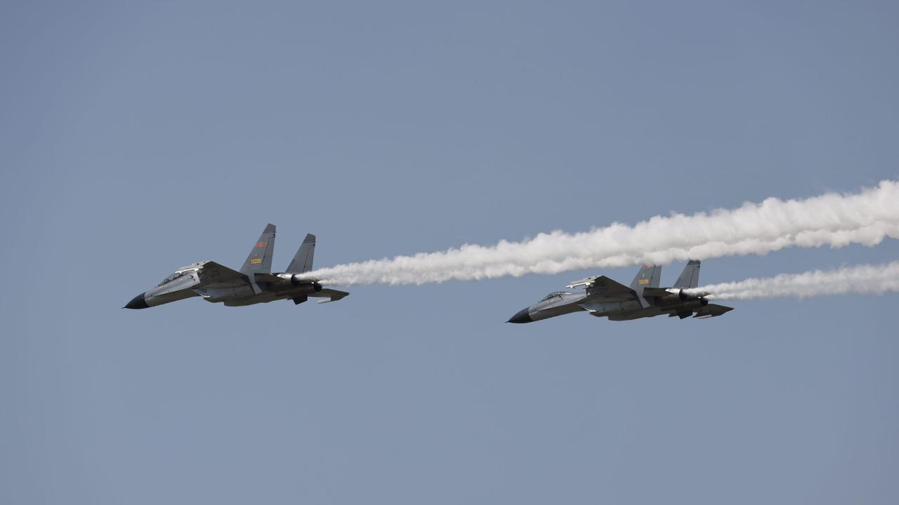 China sends 24 fighters jets over Taiwan in second wave of war games