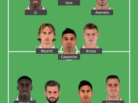 Real Madrid Will Defeat Real Sociedad With This Strong Lineup