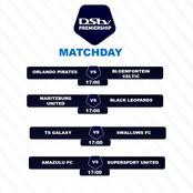 See Today's Dstv Premiership See Today's Dstv Premiership  fixtures