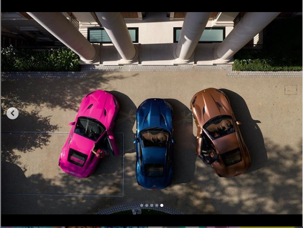Femi Otedola buys three Ferrari Portofino whips for his three daughters lindaikejisblog3