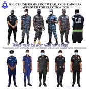 Security Agencies And Their Respective Uniforms You Will See At The Polling Stations.