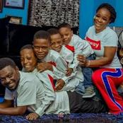 Lovely Photos Of Yoruba Actor, Kunle Afod And His Family