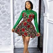 80 Latest Ankara Short Gowns For Stylish Women