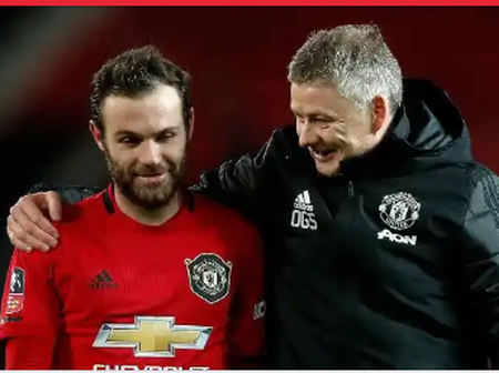 See What Ole Solskjaer Said About Juan Mata Before Their Europa Game Against Real Sociedad.