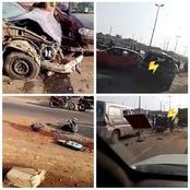 Grave accident sur l'axe Yopougon- Adjamé: plusieurs voitures impliquées