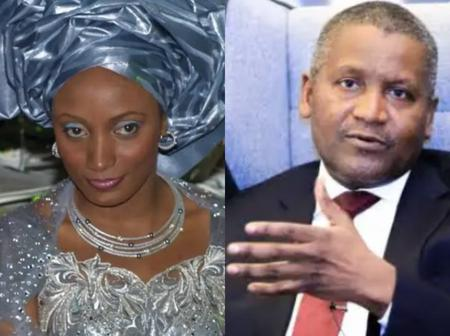 Meet The Lady Who Refused To Marry Aliko Dangote  [Photos]