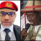 Reactions As Nnamdi Kanu Blows Hot After Miyetti Allah Said Herdsmen Won't Obey Ban On Open Grazing