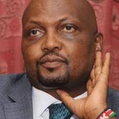Angry Netizens React on Moses Kuria's Post Referred to Uhuru
