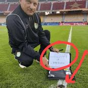 See What This Coach Found On The Pitch That Made Him Accuse Cameroon Of Practising Witchcraft