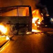 تفاصيل الحادث المأساوي الذي حدث قبيل سحور ثاني أيام رمضان ونتج عنه 20 جثة متفحمة