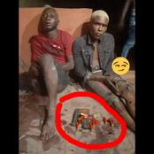 These Igbo guys were caught terrorising a city in Anambra