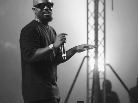 "#VGMA21: Sarkodie wins Best International Collaboration of the Year with ""Lucky"" ft Rudebwoy"