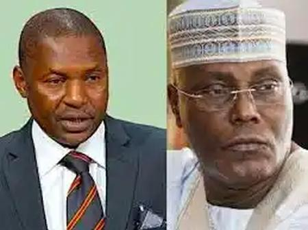 Atiku's Support Group Alledgely Blast Malami For Saying Atiku Abubakar is Not a Citizen by Birth