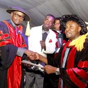 Checkout Photos Of The New Degree Awarded To A Local Government Chairman In Akwa Ibom State.
