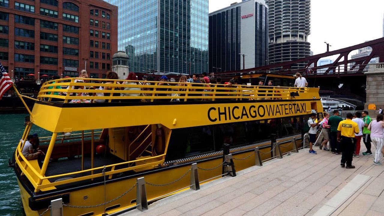 Chicago Water Taxi Returns to the River This Summer