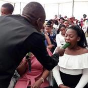 A Pastor teaches female Members On how to carry out Mouth job on their men.