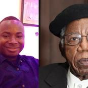 Reactions As Young Nigerian Guy Analyses The Weaknesses And Strength Of Chinua Achebe