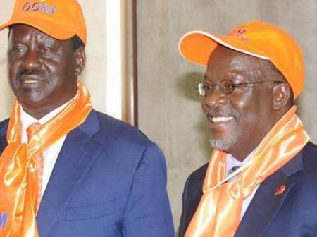 Raila's Relationship With Magufuli Was On Another Level And Here Is Why