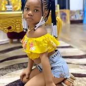 """""""Is This Right? """" See Photos Of A 4 Year Old Girl That Got People Talking"""