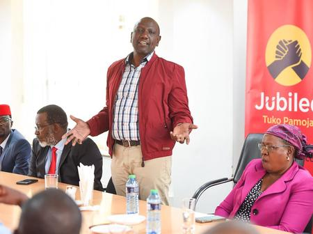 DP Ruto: Interesting Times for People to Question my Presence at Jubilee Party Headquarters
