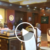 Video: Scenes from the President's office after the election petition verdict