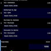 Bank On The Best Six GG and Correct Score Soccer (CS) Tips to Win This Tuesday