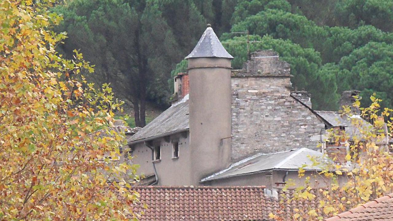 Une maison de style médiéval, quartier du Pioch