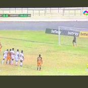 Hearts of Oak concedes late controversial penalty to lose the Ghana Premier league tie to Ashgold.