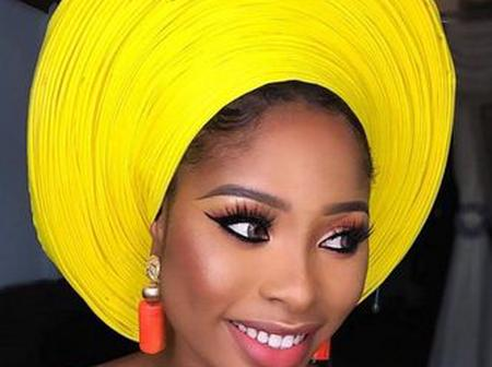 Ladies, See Adorable Gele Styles You Can Wear To Any Occasion