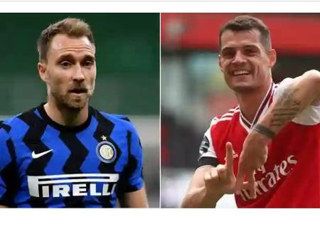 From Brick to Back to Brick again: Granit Xhaka and Eriksen find themselves at similar cross roads