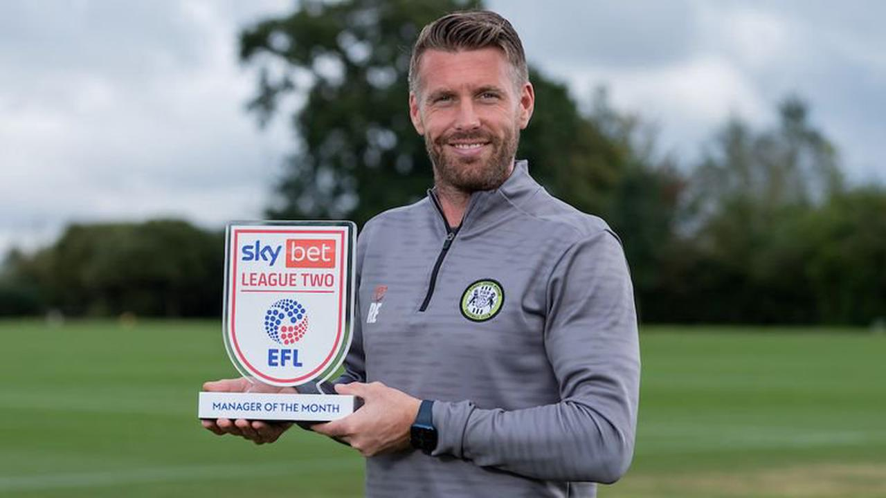 Rob Edwards interview: Forest Green head coach discusses his coaching background and why he couldn't turn Rovers down