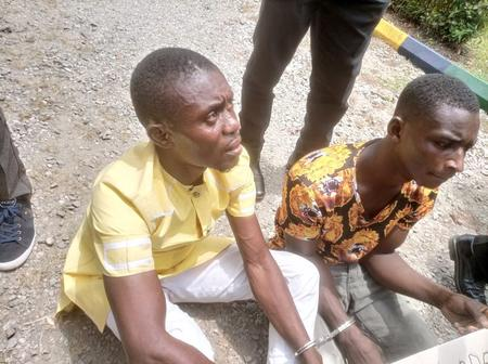 Picture of suspected Kidnappers who kidnapped Ex nddc officials