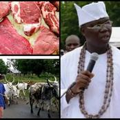 The Northerner Are Not Doing Us A Favour We Southern Spend N8billion In Beef Consumption- Gani Adams