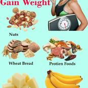 4 Main Ways to Gain Weight Very Fast especially number one.