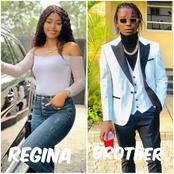 Regina Daniels' brother is a year older today, check out what she posted to celebrate him