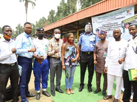 Lagos CP, Dignitaries Launch POCACOV In Lagos