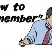 8 Tips On How To Remember Things Easier and Faster