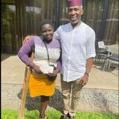 Hon Uchemba Nwosu Empowers The One Legged Hawker With One Million Naira