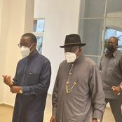 Goodluck Jonathan Stormed Delta State, Read What He Came There To Do
