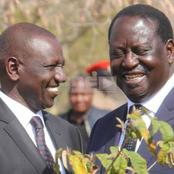 Here Is What ODM Party Leader Raila Odinga Was Told By Kang'ata About DP Ruto