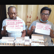 Arrest of men who imports drugs-baked cakes, biscuits for Lagos elites.